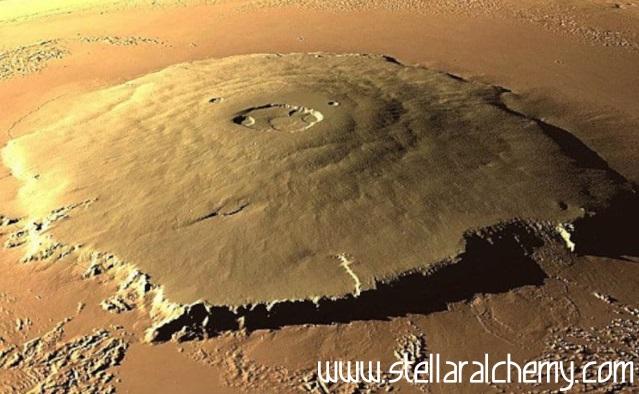Mars Punya Gunung Api Tertinggi Se-Tata Surya